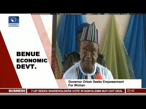 Governor Ortom Seeks Empowerment For Women Pt.3 |News@10| 09/12/17