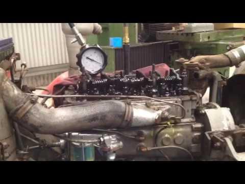 Compression Testing Perkins A3 152sel Engine