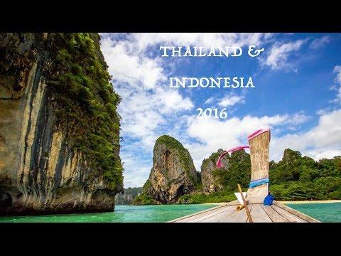 Travelling Thailand, Indonesia 2016