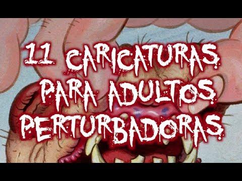 11 CARICATURAS para ADULTOS que SON DEMASIADO PERVERSAS