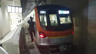 東京メトロ17000系 元町・中華街駅発車