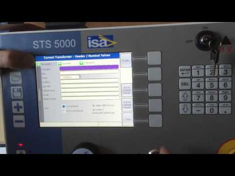 STS 5000 - CT Testing Applications - Ratio and Polarity