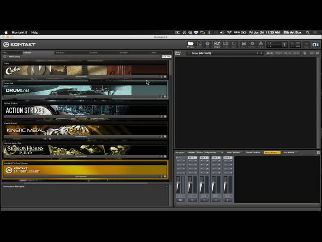 How To Intstall Output Exhale In Kontakt Player