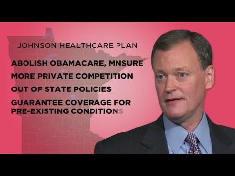 Jeff Johnson, Tim Walz Battle Over Health Care