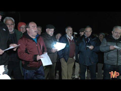 Los vecinos de Rabanera salen a las calles para cantar las marzas