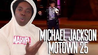 1st MOON WALK EVER!!! Michael Jackson Billie Jean at Motown 25 REACTION