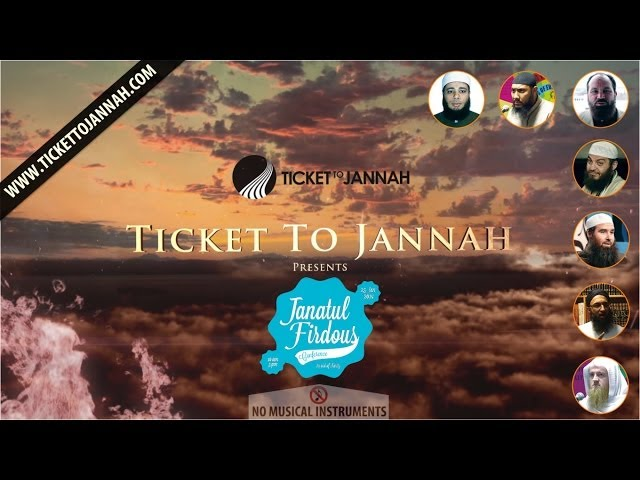 Ticket to Jannah Presents┇Full Day Conference Janatul Firdaus┇25th January Travel Video