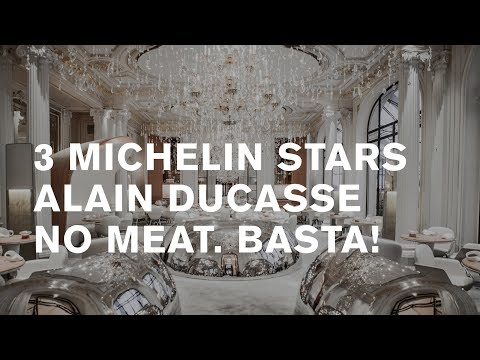 3 Michelin Stars Alain Ducasse Au Plaza Athénée, Paris [remastered 2019]