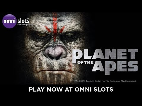 Planet of the Apes trailer by NetEnt at Omni Slots