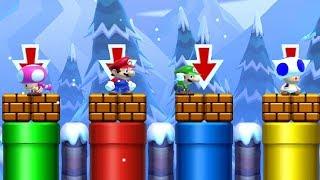 Super Mario Maker 2 - Online Versus Mode #6 (4 Player Matches)