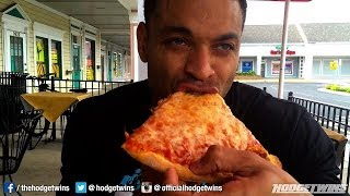 New York Style Pizza Post Workout Meal @hodgetwins