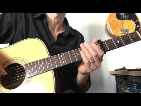 Eva Cassidy Ain't no Sunshine Intro : Leçon de guitare