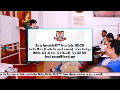 Portugal Multicultural Academy || Portuguese Language Course || Lisbon Portugal