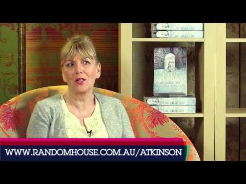 Kate Atkinson  about LIFE AFTER LIFE  Random Book Talk