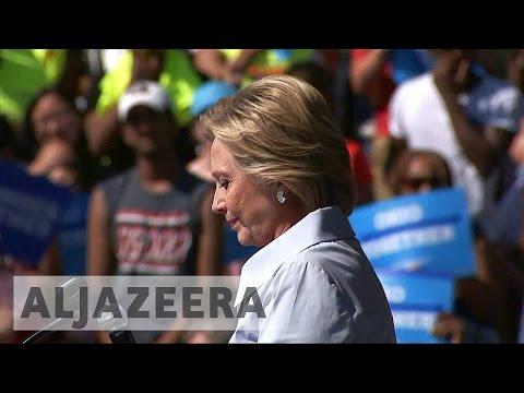 US election: Hillary Clinton's campaign woes continue in Ohi