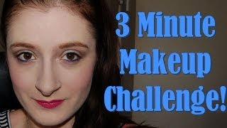 3 Minute Makeup Challenge Thumbnail