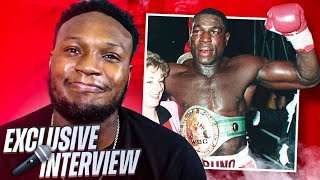 HEAVYWEIGHT CHAMPION FRANK BRUNO INTERVIEW *Exclusive*