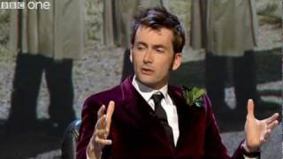 "David Tennant gets his ""Sonic Thing"" out - QI Preview - BBC One"