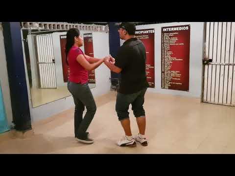 Aprende A Bailar Cumbia Desde CERO (En Pareja) Video #2