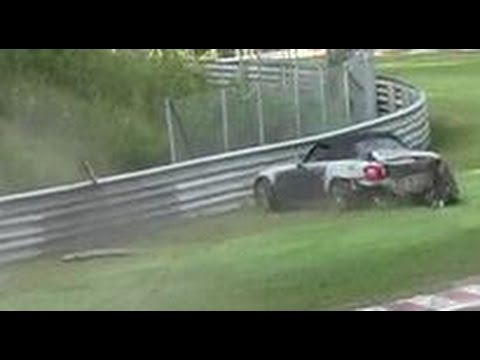 Hard Honda S2000 CRASH Nordschleife Nürburgring Unfall Touristenfahrten 13.08.2015