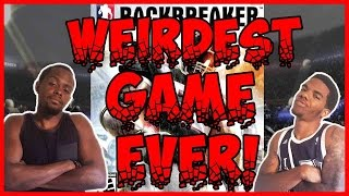WEIRDEST GAME EVER MADE!! - Backbreaker Football | #ThrowbackThursday ft. Juice