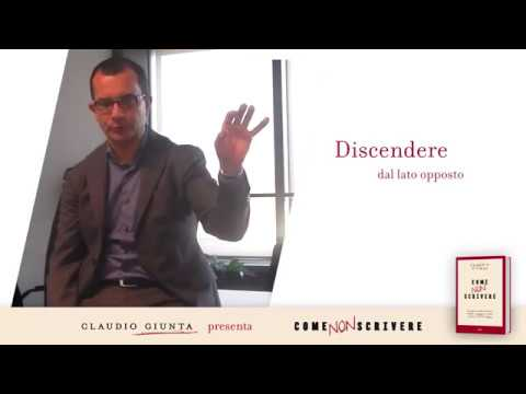Scrivere chiaro: Claudio Giunta presenta Come non scrivere (UTET)