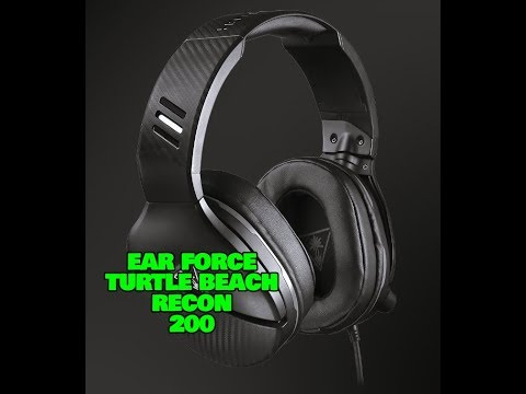 Turtle Beach Recon 200 Unboxing