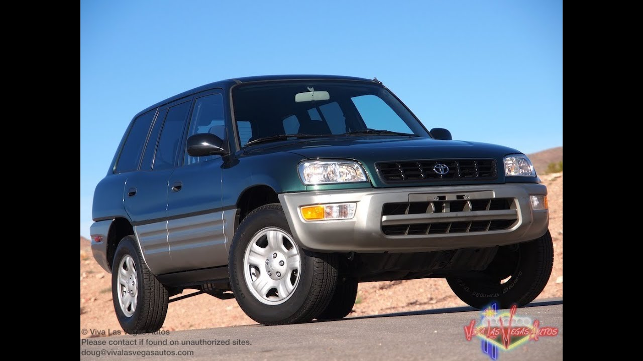2000 toyota rav4 test drive viva las vegas autos youtube. Black Bedroom Furniture Sets. Home Design Ideas