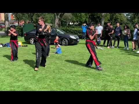 Martial Art Demonstrations