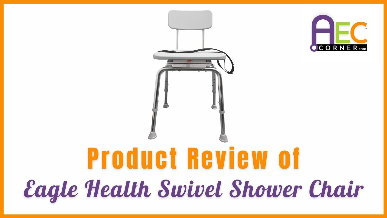 Product Review of Swivel Shower Chair - YouTube