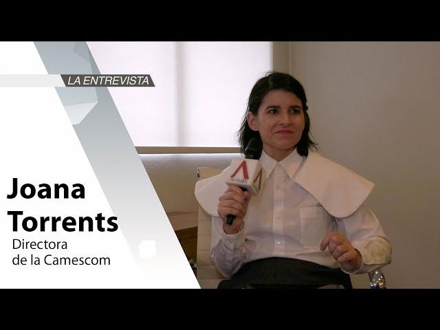 La Entrevista: Joana Torrents, Directora de la Camescom