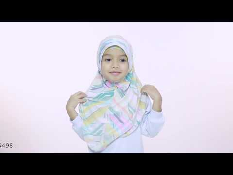 Kids Hijab Tutorial - Ume Hijab by Aira Kamilia