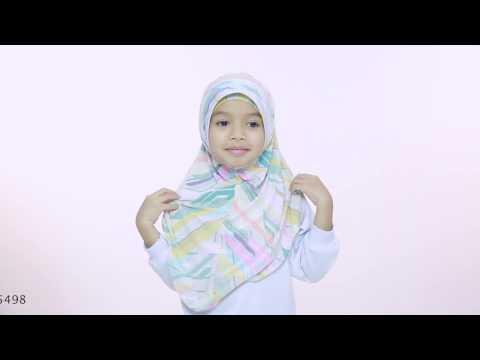 Kids Hijab Tutorial - Ume Hijab by Aira Kamilia