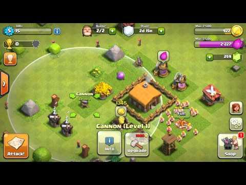 Clash of clan - upgrade gold storage level 2