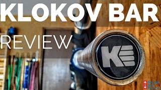 Klokov Equipment 20 KG Weightlifting Bar Review!