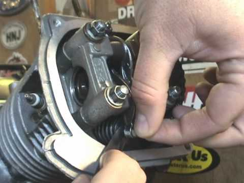 Scooter How To GY6 Valve Adjustment Also For Buggy