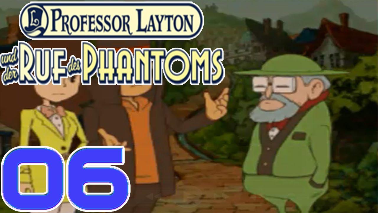 Professor Layton und der Ruf des Phantoms #6 - Unterwegs ...