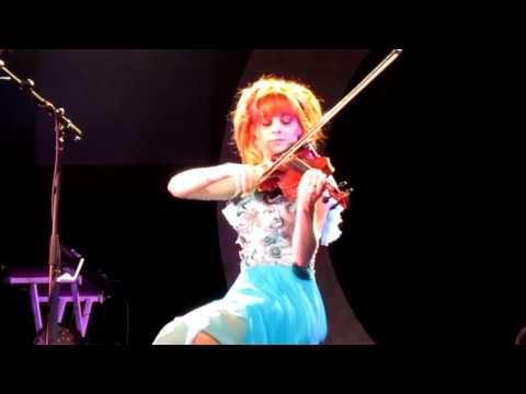 Lindsey Stirling Live in SF - Transcendence 5-17-14