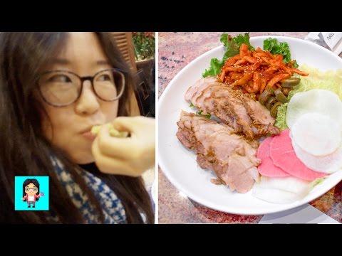 Korean Steamed Pork Wraps at Jang Su Jang - Kingdom Koreatown #5