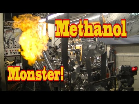 Blown Methanol Monster lays waste to Dyno room!  LOL!  Nelso