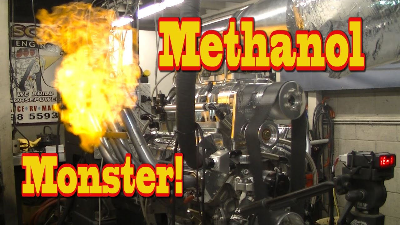 Blown Methanol Monster lays waste to Dyno room! LOL! Nelson Racing Engines   Alcohol Rail