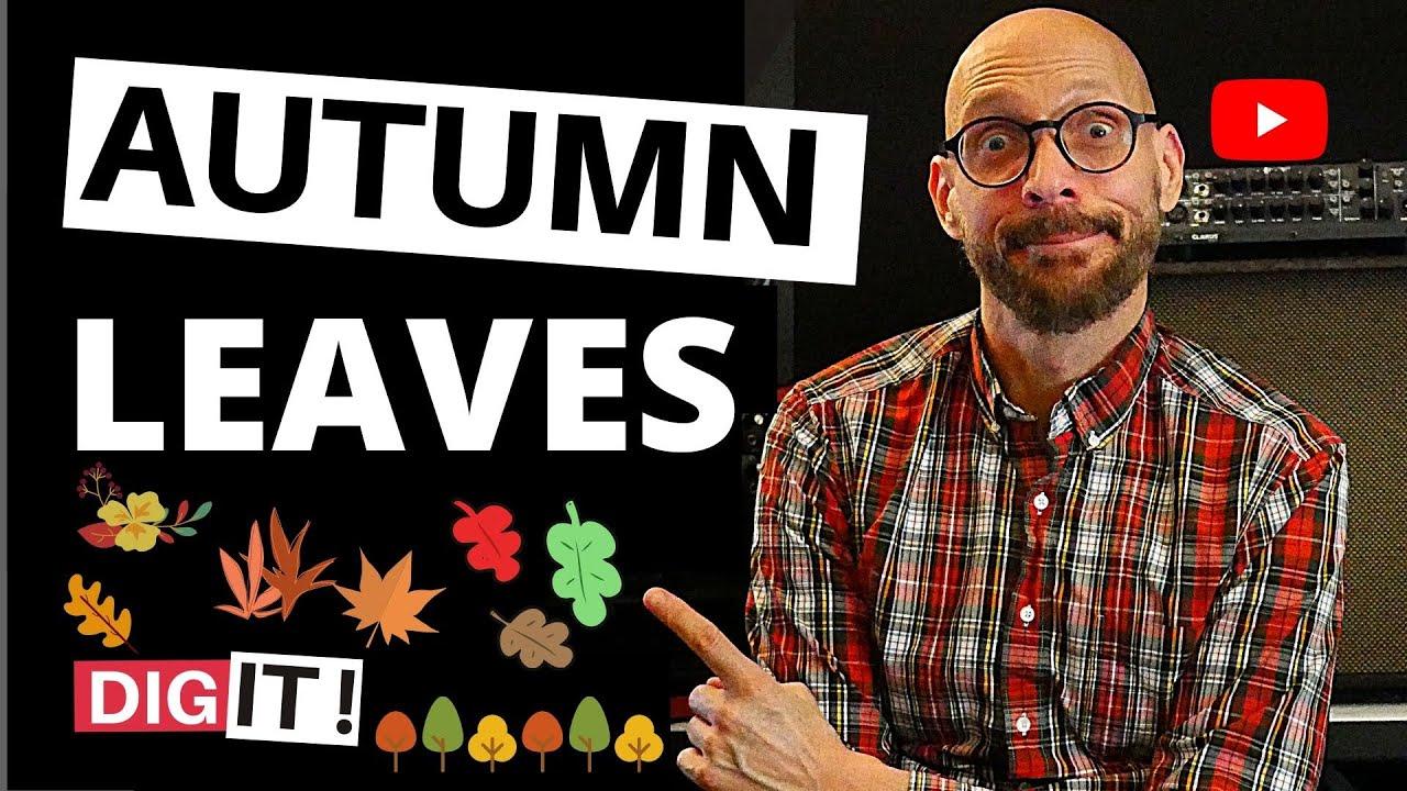 Autumn Leaves-Jazz Guitar Lesson