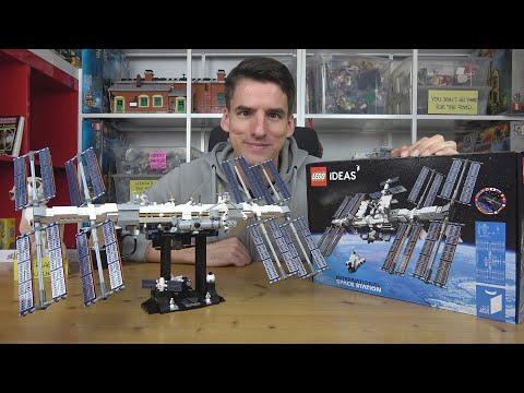 LEGO® entdeckt die Zukunftstechnologie Druck: Ideas 21321 International Space Station