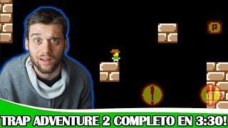 Trap Adventure 2 COMPLETADO en 3 minutos!! - World Record - Speedrun (Kitosreaccion)