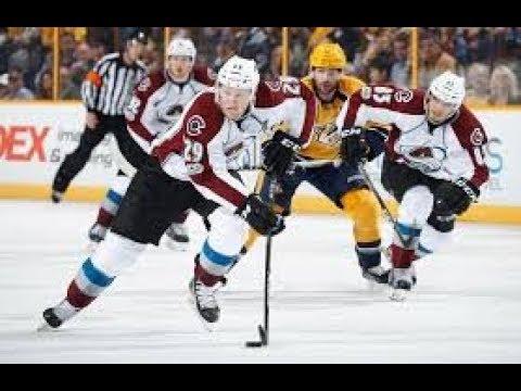 Top NHL Pick Colorado Avalanche vs Nashville Predators Stanley Cup Playoffs 4/18/18 Hockey