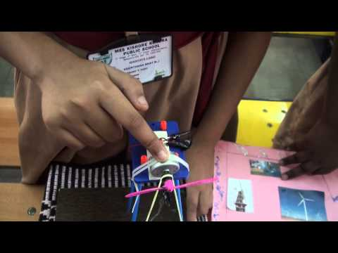How a windmill works school project