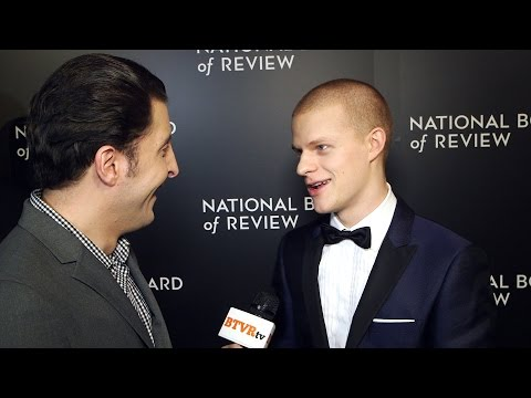 Lucas Hedges at the National Board of Review Gala Behind The Velvet Rope