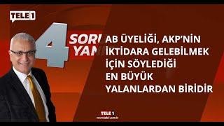 Merdan Yanardağ: Türkiye dinci ve ırkçı bir rejime sürükleniyor - 4 SORU 4 YANIT (31 TEMMUZ 2020)