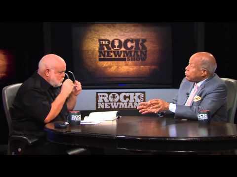 Dr. Louis Sullivan on The Rock Newman Show