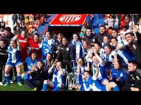O Deportivo proclámase campión da Copa de Galicia de fútbol feminino